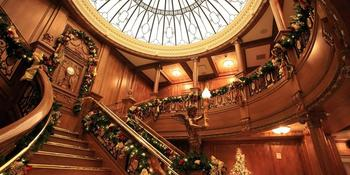 Grand Staircase Ceremonies at the Titanic Museum weddings in Pigeon Forge TN