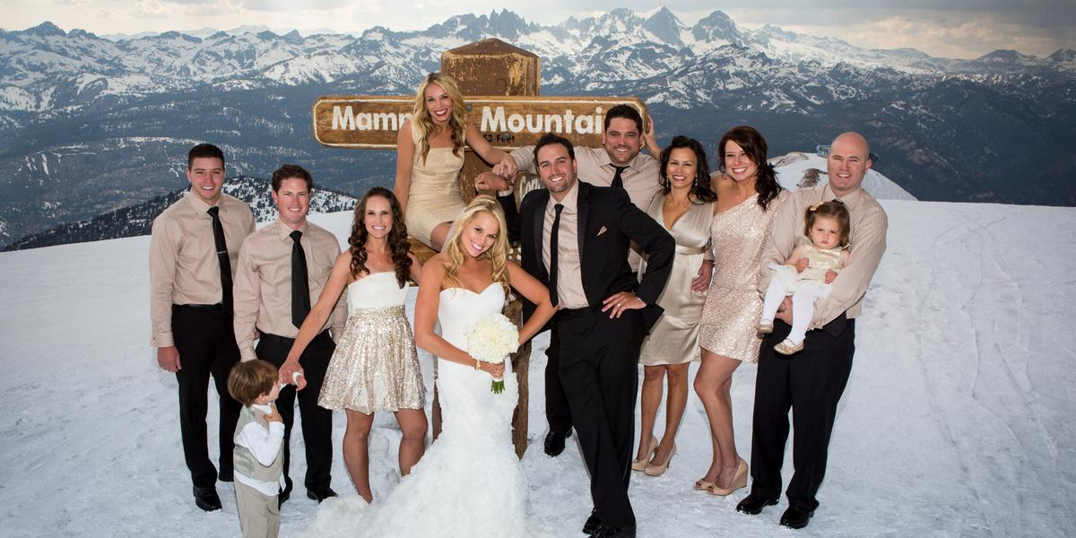 mammoth lakes weddings california wedding