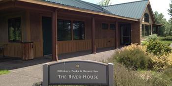 River House at Rood Bridge Park weddings in Hillsboro OR