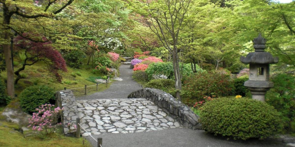 Washington park japanese garden weddings for Outdoor wedding washington state