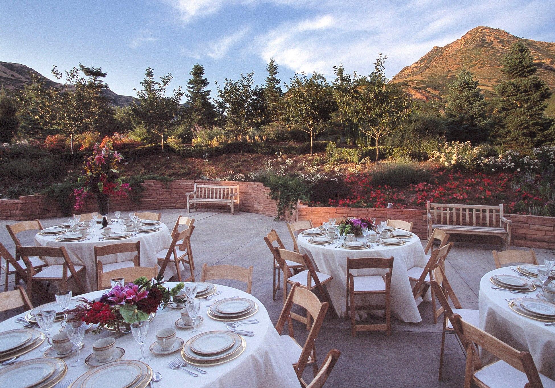 Orangerie Red Butte Garden Venue Salt Lake City