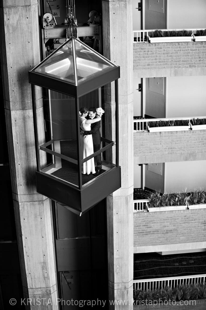 Hyatt Regency Cambridge wedding venue picture 10 of 16 - Photo by: Krista Photography