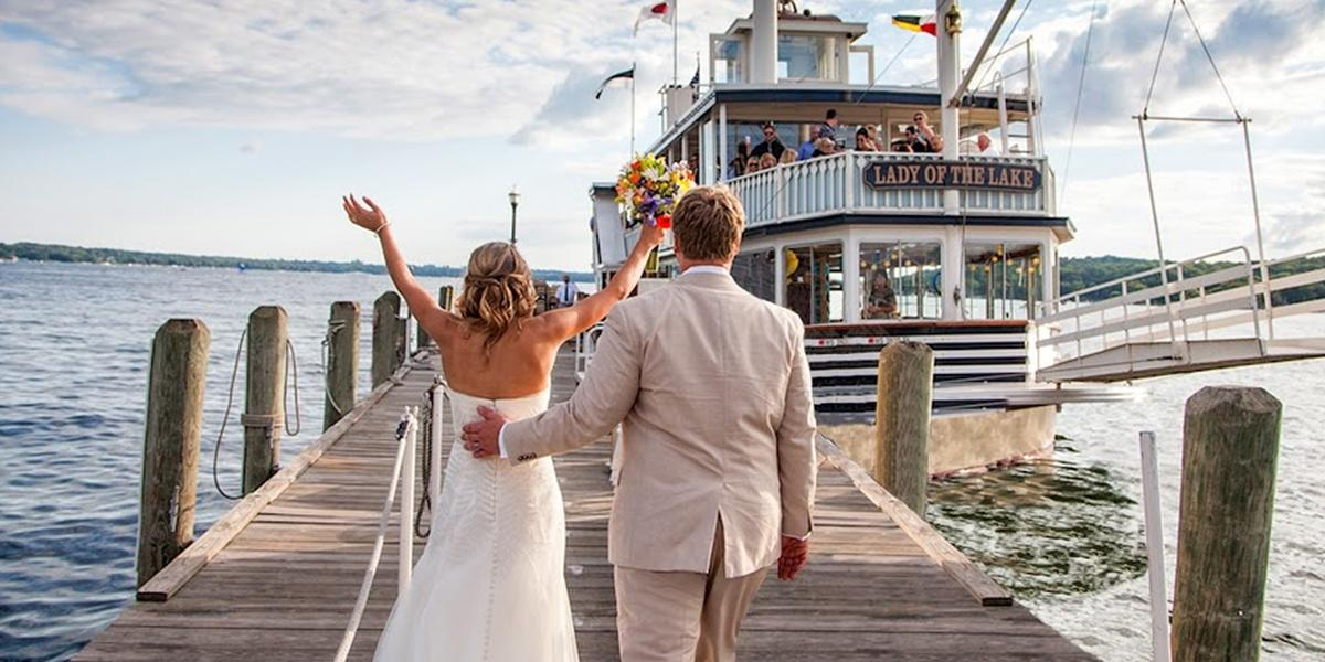 Lake Geneva Cruise Line Weddings