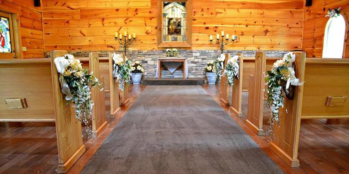 Little Log Wedding Chapel wedding venue picture 4 of 8 - Provided by: Little Log Wedding Chapel