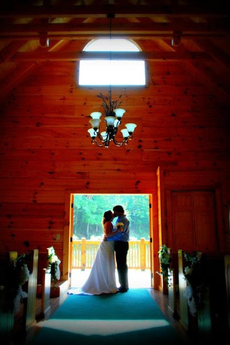 Little Log Wedding Chapel wedding venue picture 5 of 8 - Provided by: Little Log Wedding Chapel