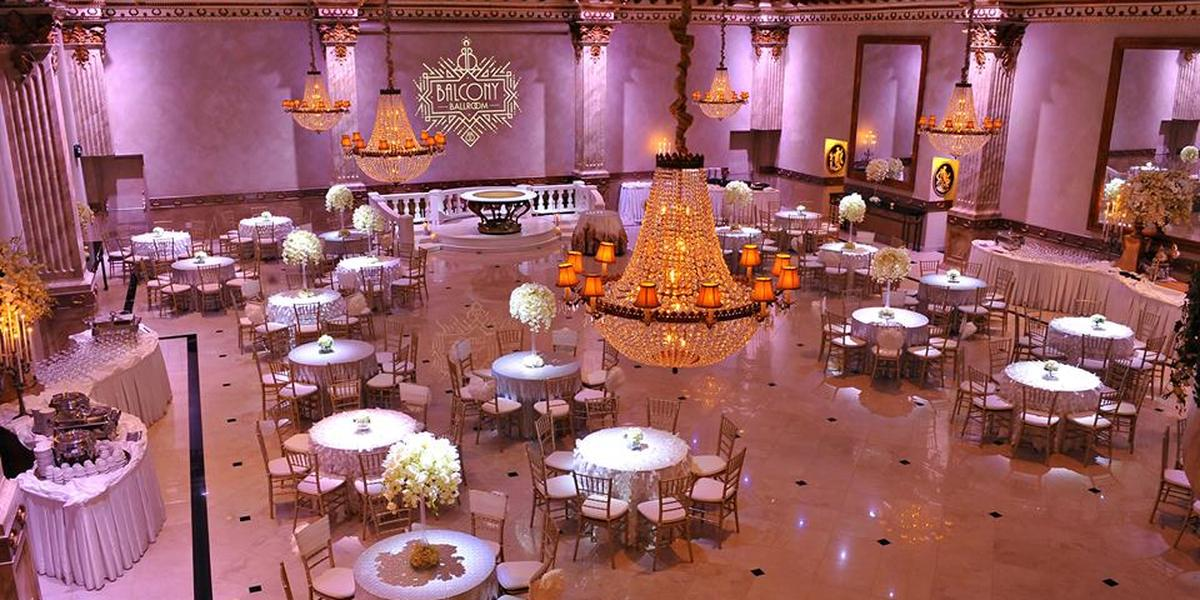 Get Prices For Wedding Venues In: The Balcony Ballroom Weddings