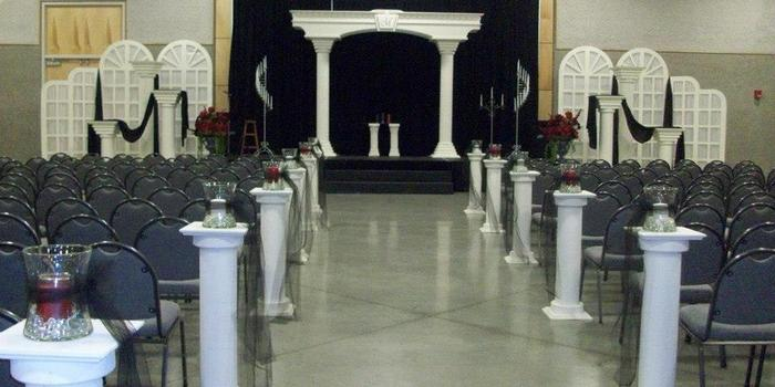 The Frisco Center wedding Oklahoma City