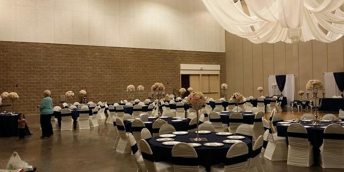 Fort Smith Convention Center wedding Arkansas