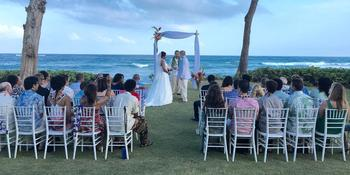 Hukilau Lanai weddings in Kapaa HI