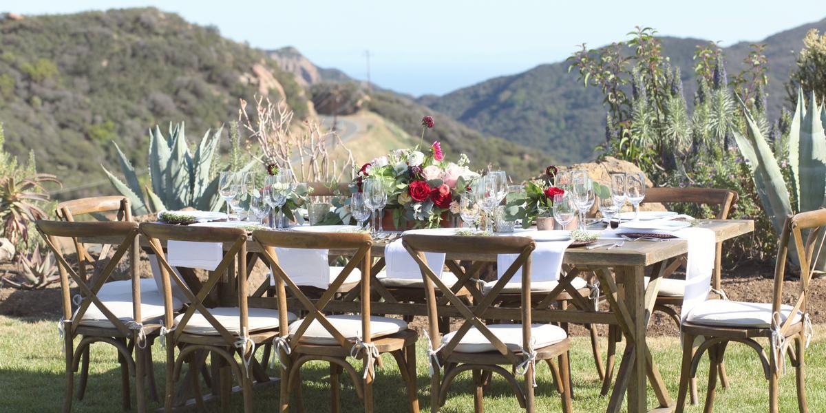 Malibu hilltop estate weddings get prices for wedding for Best wedding venues california