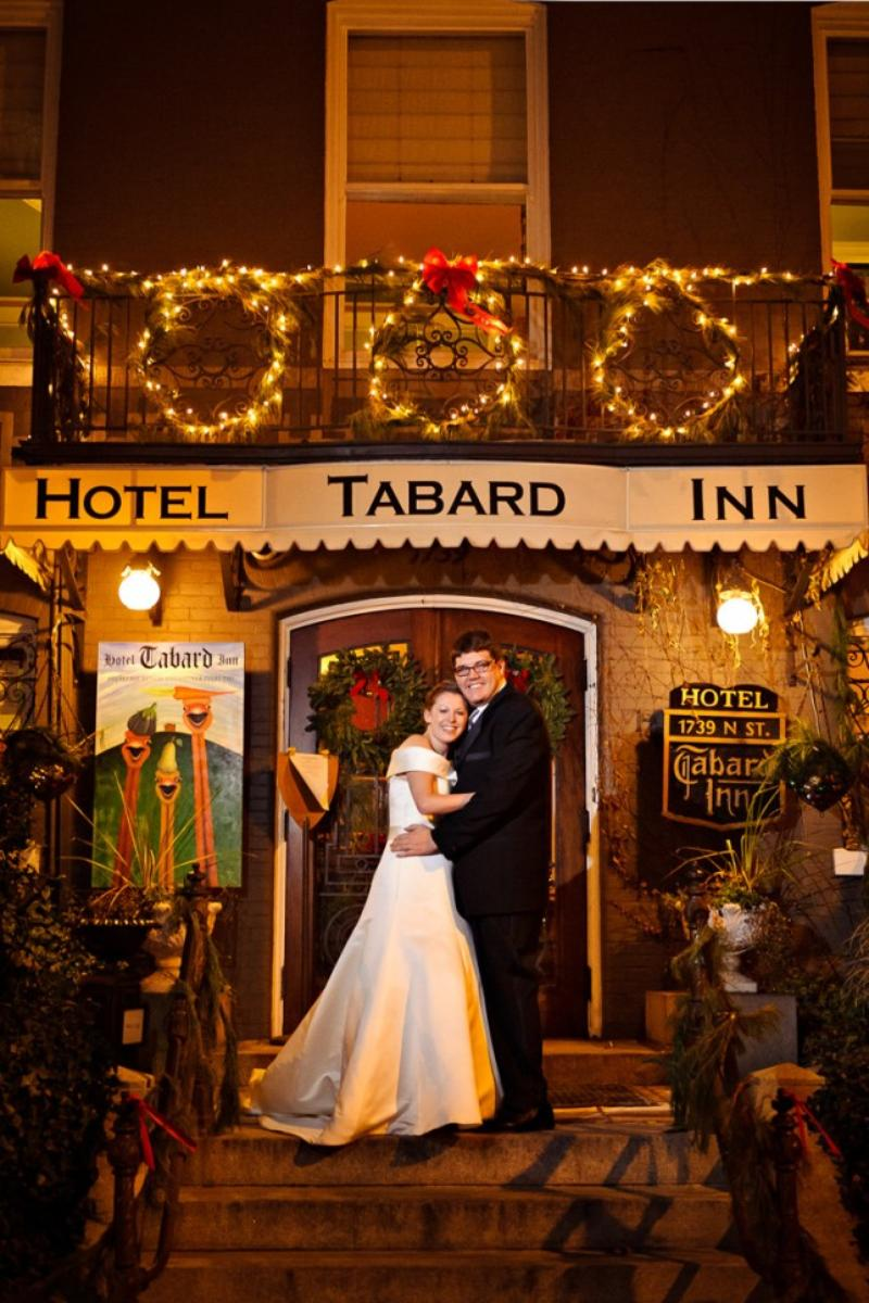 Hotel Tabard Inn wedding venue picture 6 of 8 - Provided by: Egomedia Photography