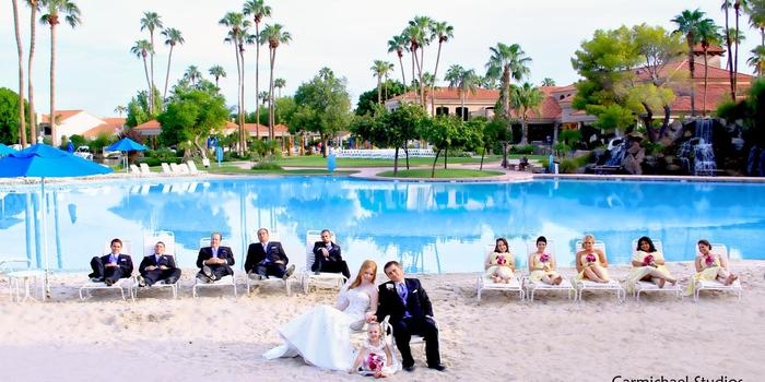 Val Vista Lakes Events wedding venue picture 3 of 8 - Photo by: Carmichael Studios