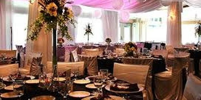pipe and drape wedding decoration rental flint mi