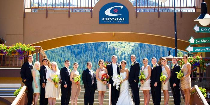Crystal Mountain Resort wedding venue picture 6 of 8 - Photo by: Chris Mather Photography
