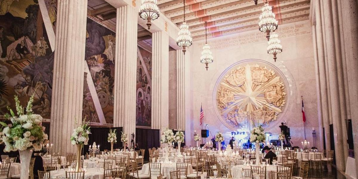 The Hall Of State At Fair Park Weddings