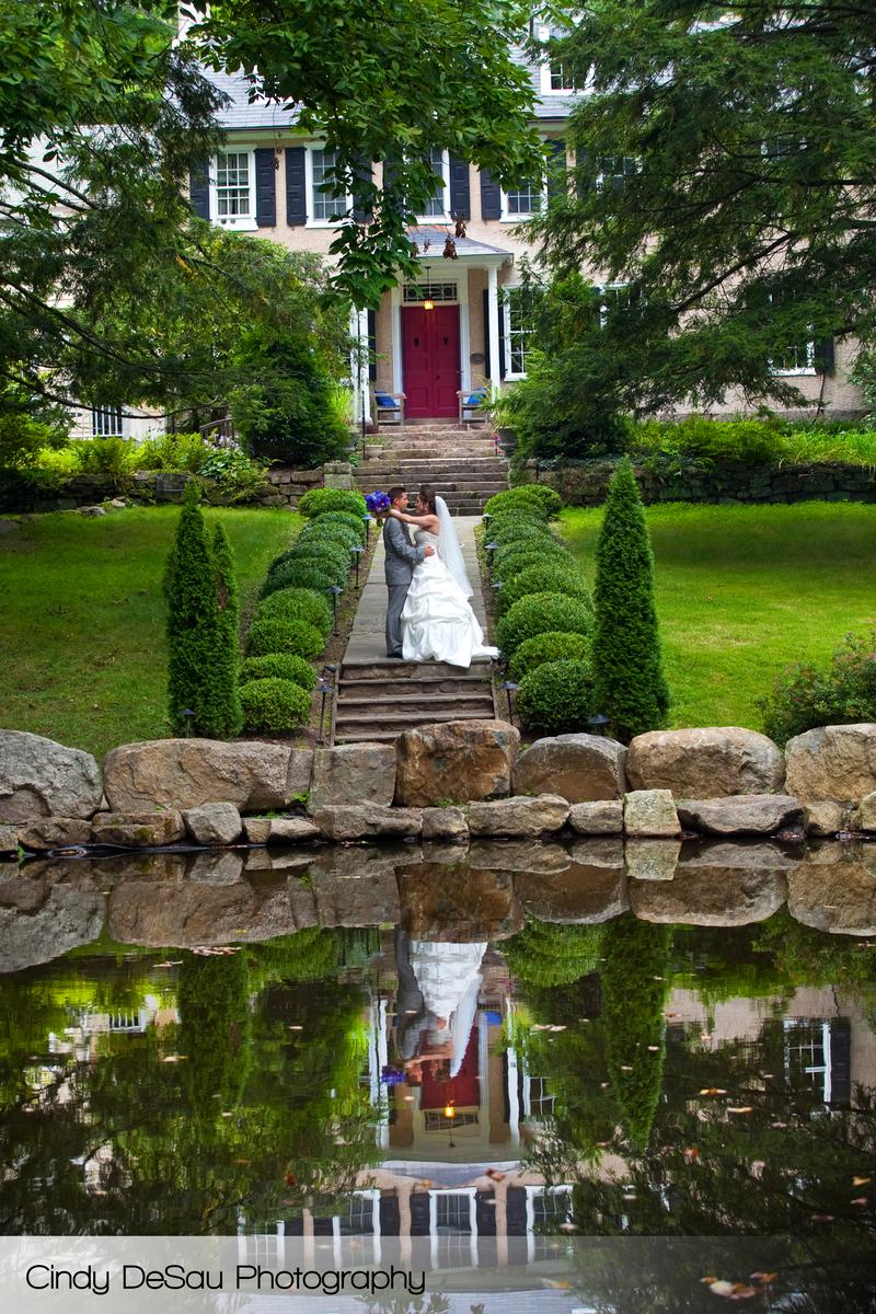 HollyHedge Estate wedding venue picture 2 of 16 - Photo by: Cindy DeSau Photography