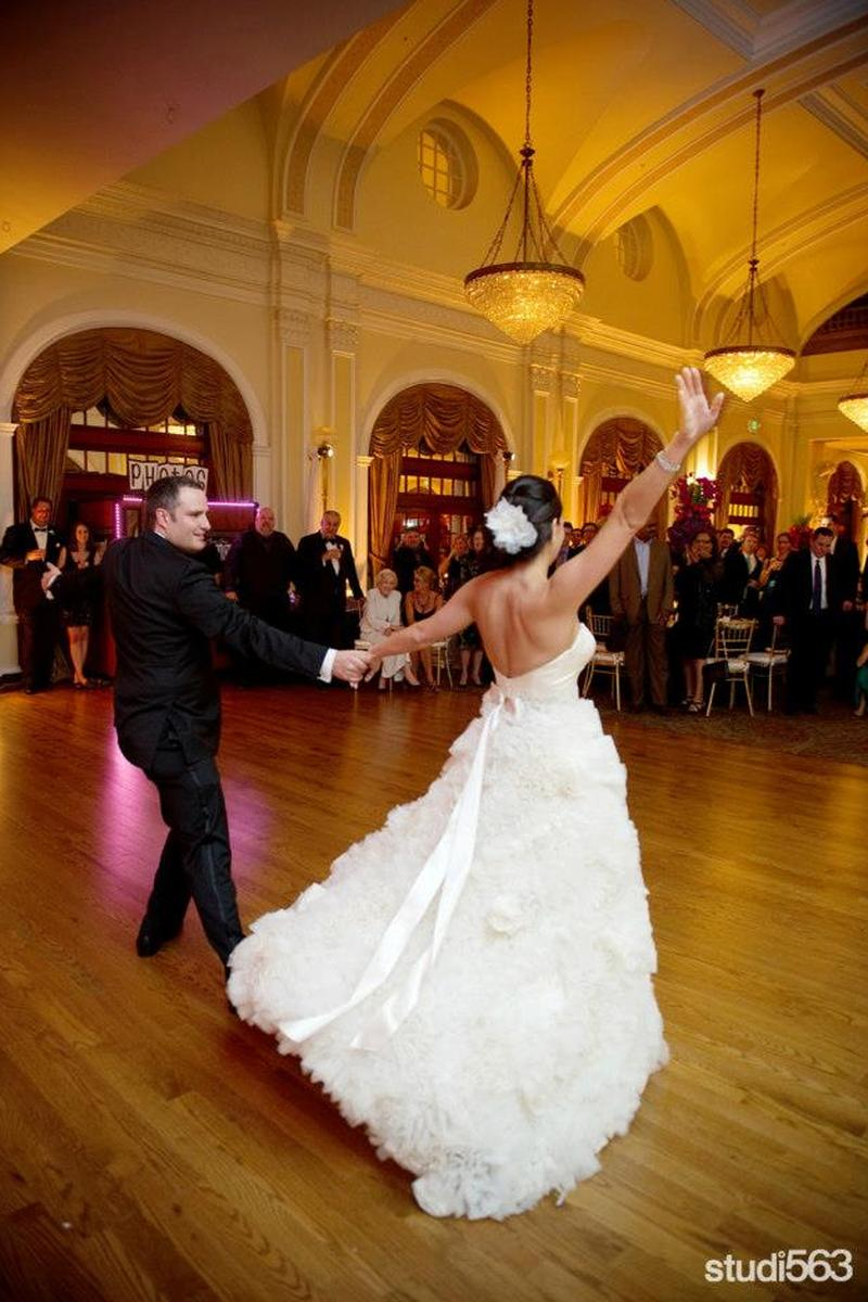 Crystal Ballroom at the Rice wedding venue picture 8 of 8 - Photo by : Studio563 Austin Photographer