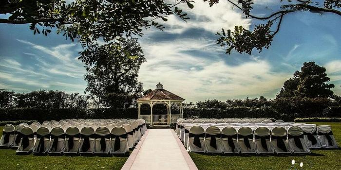 Odyssey golf course wedding
