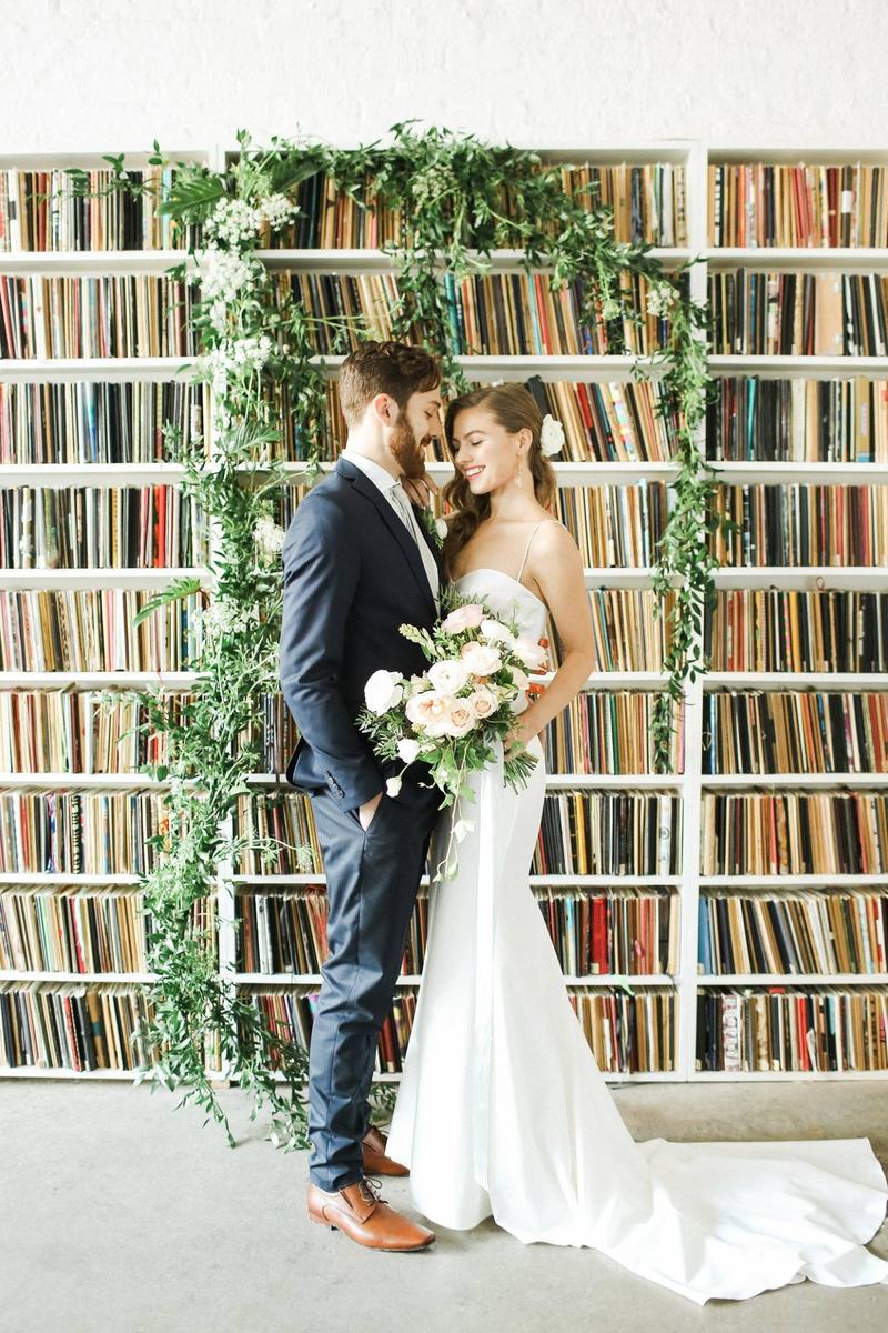 Brooklyn Art Library wedding venue picture 8 of 8 - Provided by: Brooklyn Art Library, Photo by: Bashful Captures