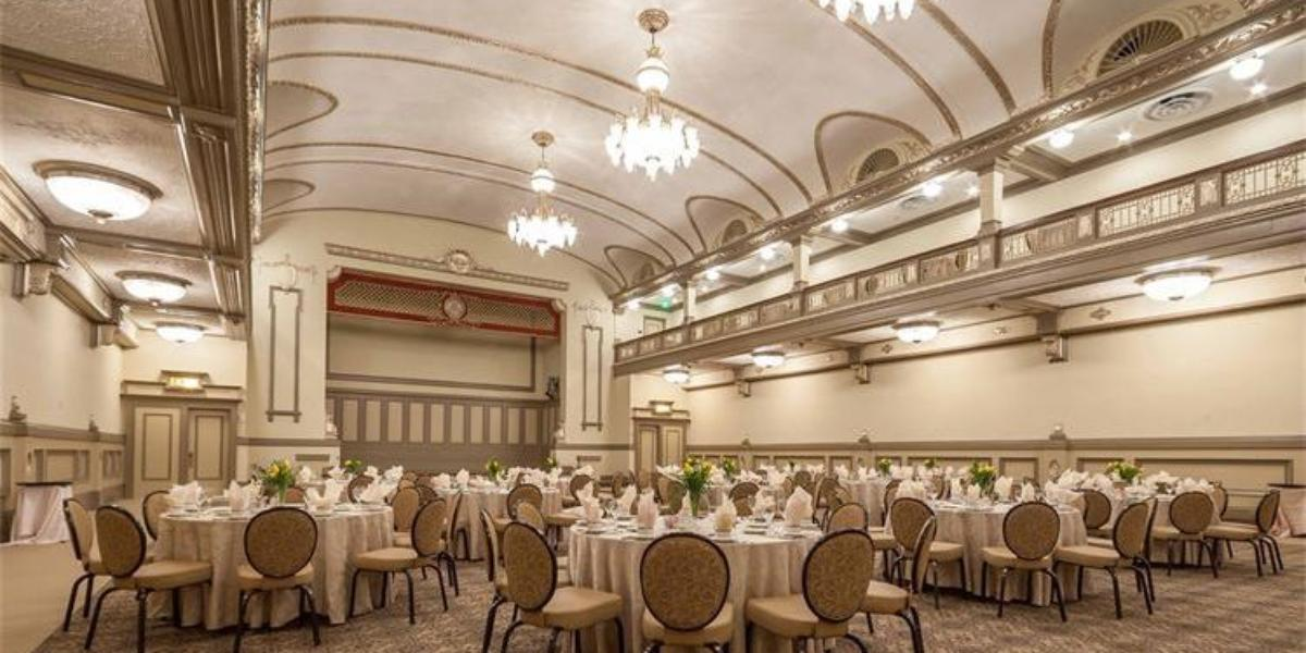 The John Marshall Ballrooms Weddings Get Prices For
