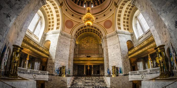 Washington State Legislative Building wedding venue picture 1 of 2 - Provided by: Washington State Legislative Building