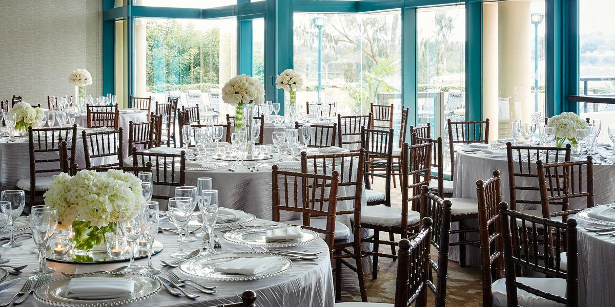 newport beach marriott bayview weddings in newport beach ca