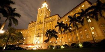 Biltmore Hotel weddings in Coral Gables FL
