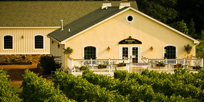 Hopewell Valley Vineyards wedding Central Jersey