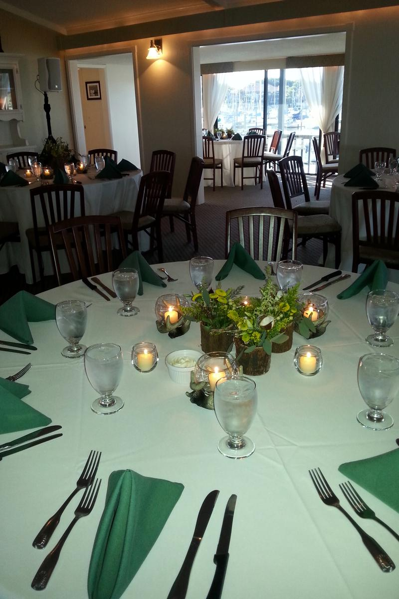 The HarborView Room above Kingfish Grill on the Water wedding venue picture 4 of 16 - Provided by: Kingfish Grill On the Water