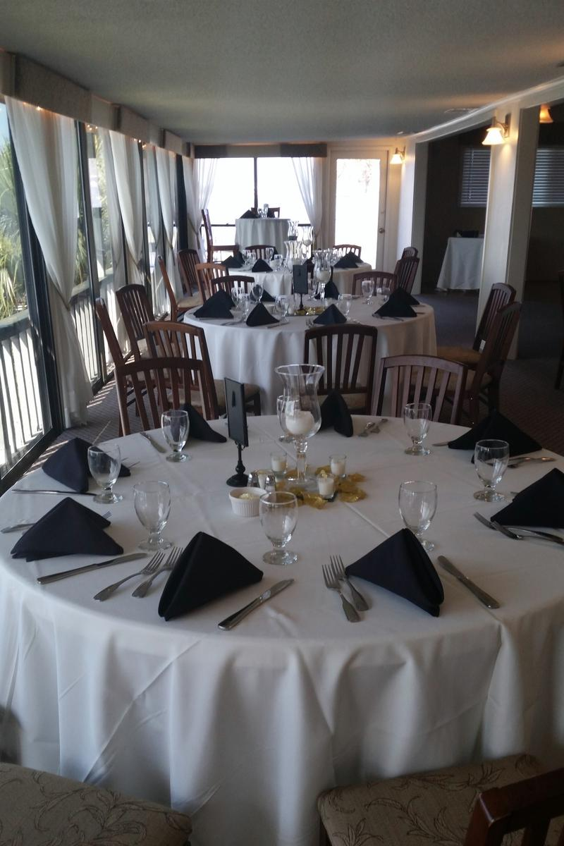 The HarborView Room above Kingfish Grill on the Water wedding venue picture 5 of 16 - Provided by: Kingfish Grill On the Water