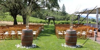 Contento Vineyard weddings in Hopland CA